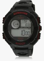 Timex T49980-Sor Black/Grey Digital Watch