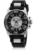 Q&Q DA32J501Y Black/Two Tone Analog Watch