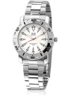 Q&Q Q616N404Y Silver/White Analog Watch