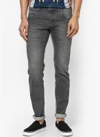 Flying Machine Grey Slim Fit Jeans (Michael)