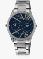 Fluid Fl101-Black Silver/Black Analog Watch