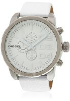 Diesel Dz4240 White/White Chronograph Watch