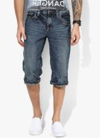 Tom Tailor Blue Washed Shorts