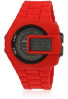 Diesel Dz7276 Red/Black Digital Watch