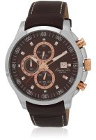 Kenneth Cole Ikc8094 Brown/Brown Chronograph Watch
