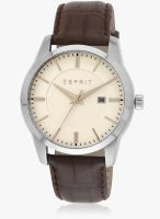 Esprit Brown/White Analog Watch