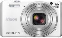 Nikon Coolpix S7000 16MP Point & Shoot Camera - White
