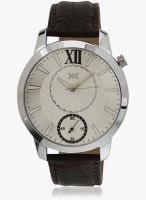 KILLER Klw237a Brown/Silver Analog Watch