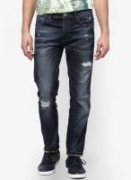 Jack & Jones Blue Regular Fit Jeans (Nick)