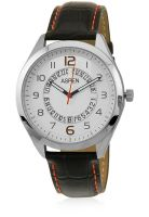 Aspen Am0042 Black/Silver Analog Watch