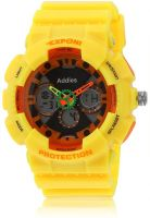 Fluid Fs204-Yl01 Yellow/Black Analog & Digital Watch