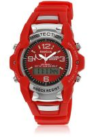 Reebok I18020 Red Analog & Digital Watch