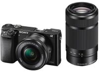 Sony Alpha ILCE-6000Y/B 24.3 MP Camera With 55-210mm Lens