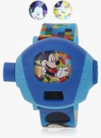 Disney Dw100248 Blue/White Digital Watch