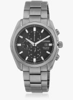 CITIZEN Ca0021-53E-Sor Silver/Black Chronograph Watch