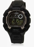 Timex T49970-Sor Black/Grey Digital Watch