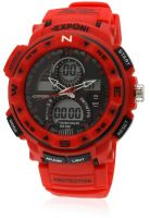 Fluid Fs200-Rd01 Red/Black Analog & Digital Watch
