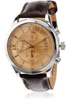 Guess W0192G1 Brown/Gold Chronograph Watch