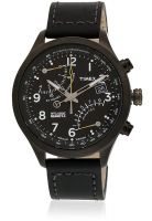 Timex T2N699 Intelligent Quartz Black/Grey Chronograph Watch