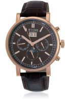 Titan 90001Wl02J Brown/Brown Chronograph Watch
