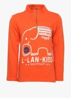Nauti Nati Orange Sweatshirt