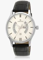 Maxima Attivo Collection Black/Silver Analog Watch