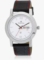 Maxima Attivo Collection Black/White Analog Watch