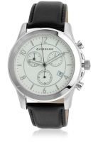 Giordano 1628-02 Black/White Chronograph Watch