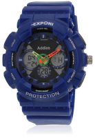 Fluid Fs204-Bl01 Blue/Blue Analog & Digital Watch