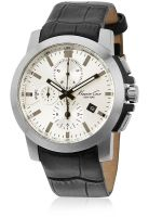 Kenneth Cole Ikc1845 Black/White Chronograph Watch