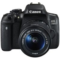 Canon EOS 750D DSL Camera with 18-55mm Lens