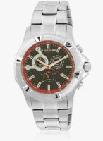 Giordano Gx1570-33 Silver/Black Chronograph Watch