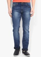 Pepe Jeans Blue Low Rise Slim Fit Jeans (Vapour)