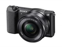 Sony Alpha ILCE-5100L 24.3MP Mirrorless Digital Camera with SLP1650 Lens