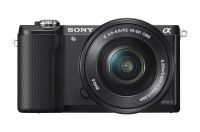 Sony ILCE-5000L Mirrorless DSLR Camera with SELP1650 Lens